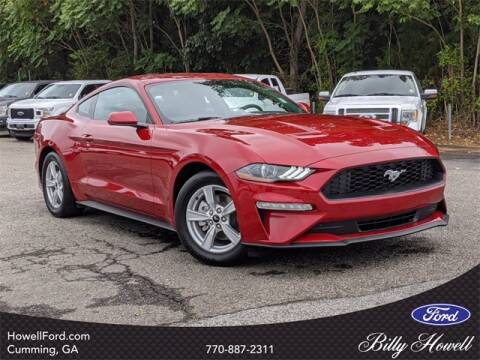 2020 Ford Mustang for sale at BILLY HOWELL FORD LINCOLN in Cumming GA