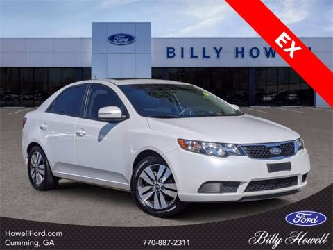 2013 Kia Forte for sale at BILLY HOWELL FORD LINCOLN in Cumming GA