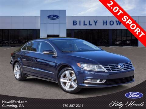 2014 Volkswagen CC for sale at BILLY HOWELL FORD LINCOLN in Cumming GA