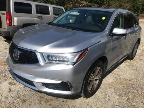 2017 Acura MDX for sale at BILLY HOWELL FORD LINCOLN in Cumming GA