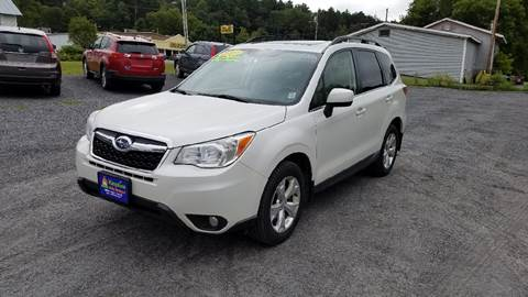 2014 Subaru Forester for sale in Lyndonville, VT