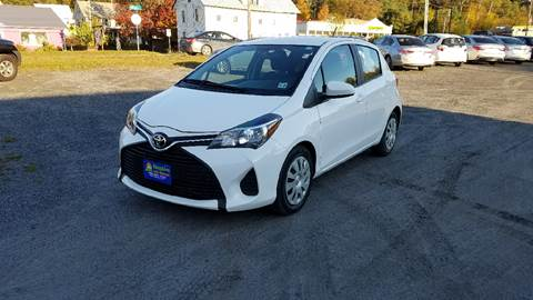 2015 Toyota Yaris for sale in Lyndonville, VT