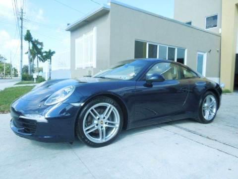 2014 Porsche 911 for sale at MPH IMPORT & EXPORT INC in Miami FL