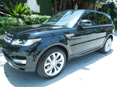 2014 Land Rover Range Rover Sport for sale at MPH IMPORT & EXPORT INC in Miami FL