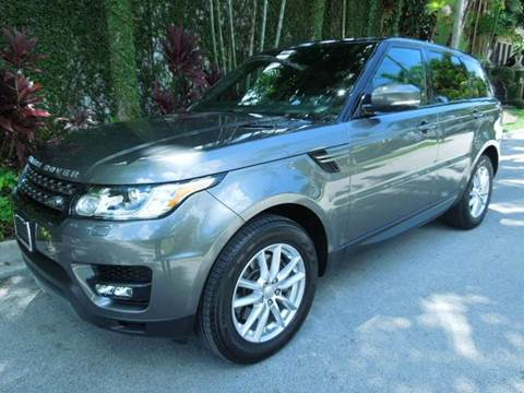 2015 Land Rover Range Rover Sport for sale at MPH IMPORT & EXPORT INC in Miami FL
