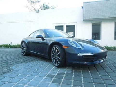 2012 Porsche 911 for sale at MPH IMPORT & EXPORT INC in Miami FL