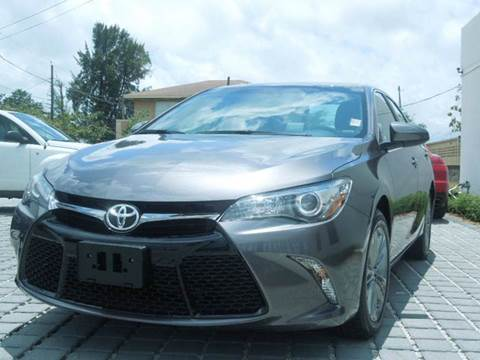 2016 Toyota Camry for sale at MPH IMPORT & EXPORT INC in Miami FL