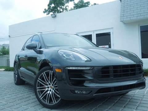 2017 Porsche Macan for sale at MPH IMPORT & EXPORT INC in Miami FL