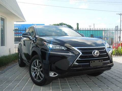 2016 Lexus NX 200t for sale at MPH IMPORT & EXPORT INC in Miami FL