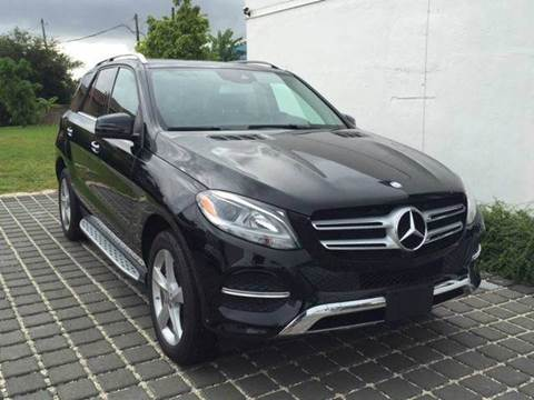 2016 Mercedes-Benz GLE for sale at MPH IMPORT & EXPORT INC in Miami FL