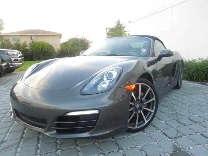 2014 Porsche Boxster for sale at MPH IMPORT & EXPORT INC in Miami FL