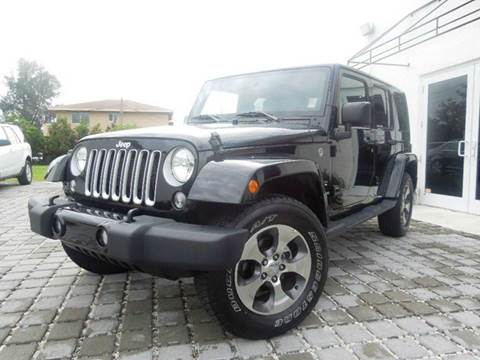 2016 Jeep Wrangler Unlimited for sale at MPH IMPORT & EXPORT INC in Miami FL