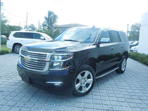 2016 Chevrolet Tahoe for sale at MPH IMPORT & EXPORT INC in Miami FL