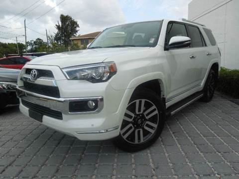 2017 Toyota 4Runner for sale at MPH IMPORT & EXPORT INC in Miami FL