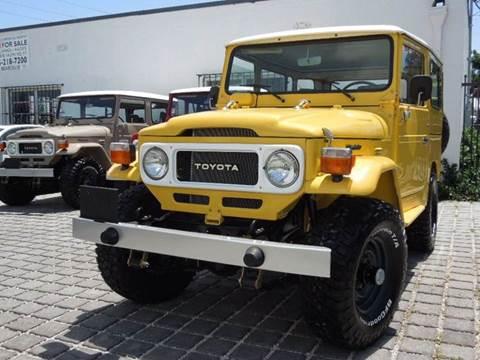 1980 Toyota FJ Cruiser for sale at MPH IMPORT & EXPORT INC in Miami FL