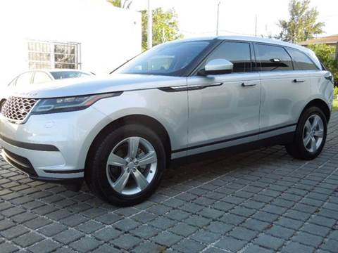 2018 Land Rover Range Rover Velar for sale at MPH IMPORT & EXPORT INC in Miami FL