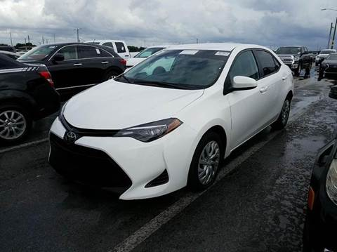 2017 Toyota Corolla for sale at MPH IMPORT & EXPORT INC in Miami FL