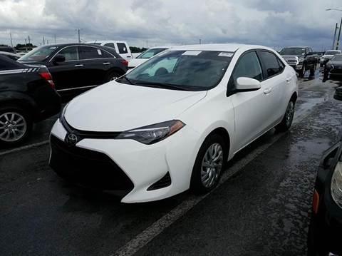 2017 Toyota Corolla for sale at MPH IMPORT & EXPORT INC in Miami FL
