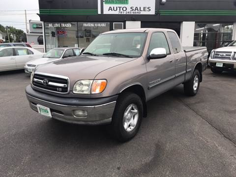 2002 Toyota Tundra for sale in Wakefield, MA