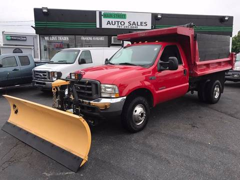 2004 Ford F-350 Super Duty for sale in Wakefield, MA