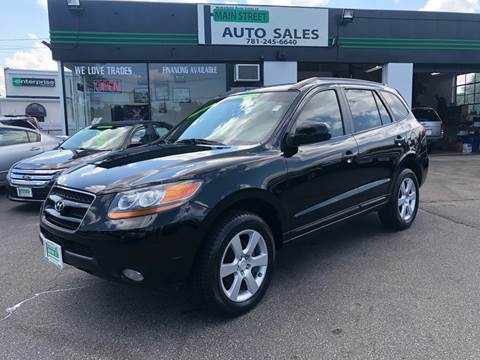 2008 Hyundai Santa Fe for sale at Wakefield Auto Sales of Main Street Inc. in Wakefield MA