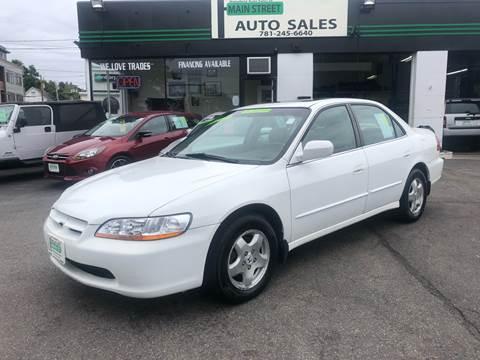 2000 Honda Accord for sale in Wakefield, MA