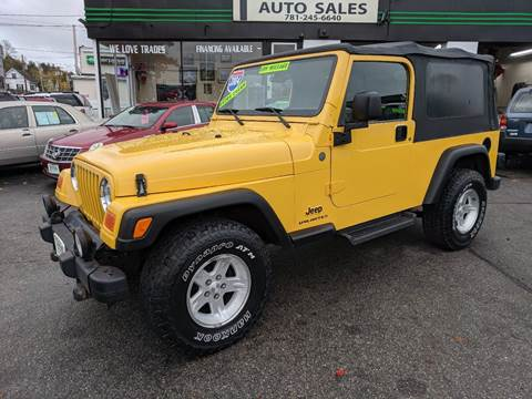 2004 Jeep Wrangler for sale in Wakefield, MA