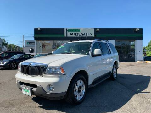 2003 Lincoln Aviator for sale at Wakefield Auto Sales of Main Street Inc. in Wakefield MA