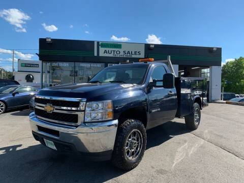 2012 Chevrolet Silverado 3500HD for sale at Wakefield Auto Sales of Main Street Inc. in Wakefield MA