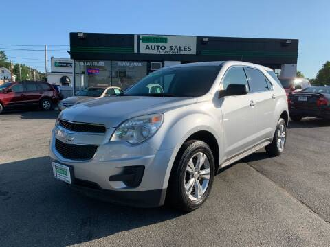 2011 Chevrolet Equinox for sale at Wakefield Auto Sales of Main Street Inc. in Wakefield MA