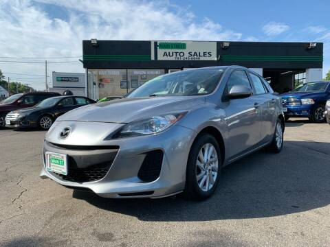 2012 Mazda MAZDA3 for sale at Wakefield Auto Sales of Main Street Inc. in Wakefield MA