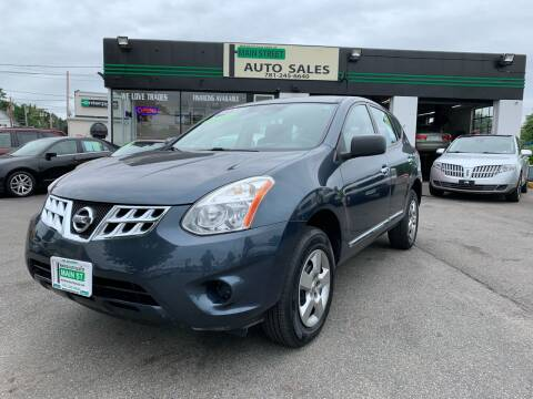 2013 Nissan Rogue for sale at Wakefield Auto Sales of Main Street Inc. in Wakefield MA