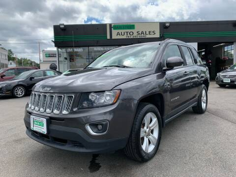 2015 Jeep Compass for sale at Wakefield Auto Sales of Main Street Inc. in Wakefield MA