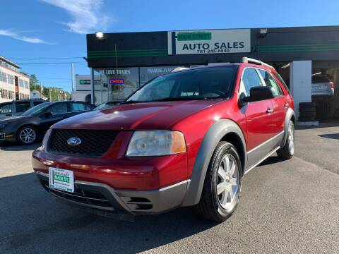 2006 Ford Freestyle for sale at Wakefield Auto Sales of Main Street Inc. in Wakefield MA