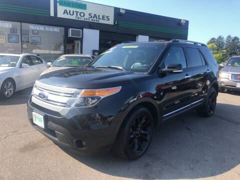 2013 Ford Explorer for sale at Wakefield Auto Sales of Main Street Inc. in Wakefield MA