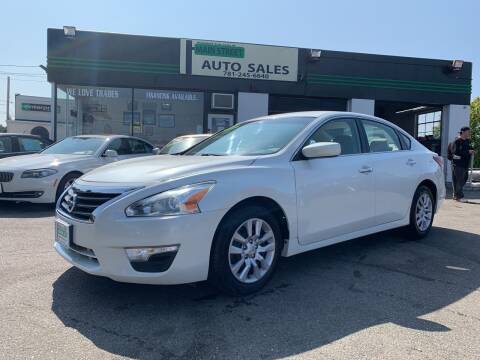 2014 Nissan Altima for sale at Wakefield Auto Sales of Main Street Inc. in Wakefield MA