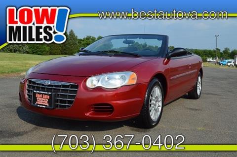 2005 Chrysler Sebring for sale in Manassas, VA