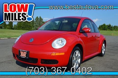 2007 Volkswagen New Beetle for sale in Manassas VA