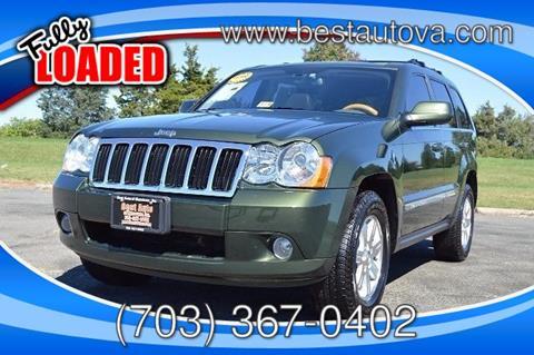 2008 Jeep Grand Cherokee for sale in Manassas, VA