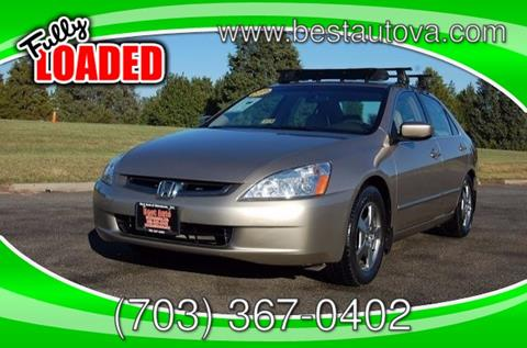 2005 Honda Accord for sale in Manassas, VA