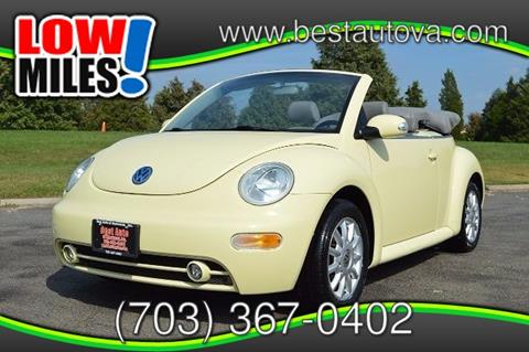 2005 Volkswagen New Beetle for sale in Manassas VA