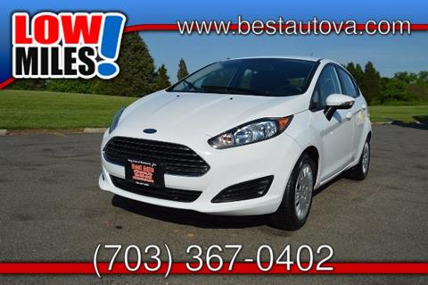 2014 Ford Fiesta for sale in Manassas, VA
