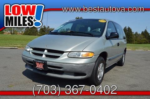 2000 Dodge Caravan for sale in Manassas VA