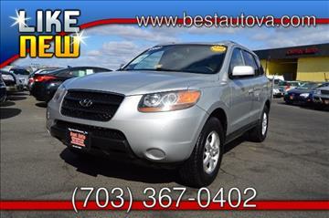 2007 Hyundai Santa Fe for sale in Manassas, VA