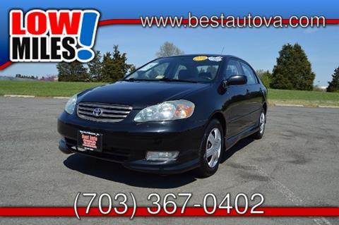 2003 Toyota Corolla for sale in Manassas VA
