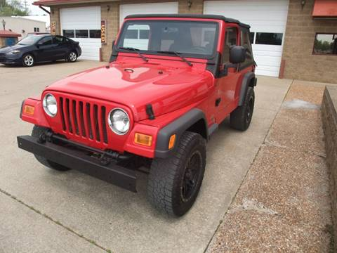 2004 Jeep Wrangler for sale in Murray, KY