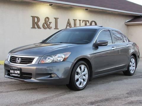 2008 Honda Accord Ex L V6 >> Honda Accord For Sale In Lake Bluff Il R I Auto