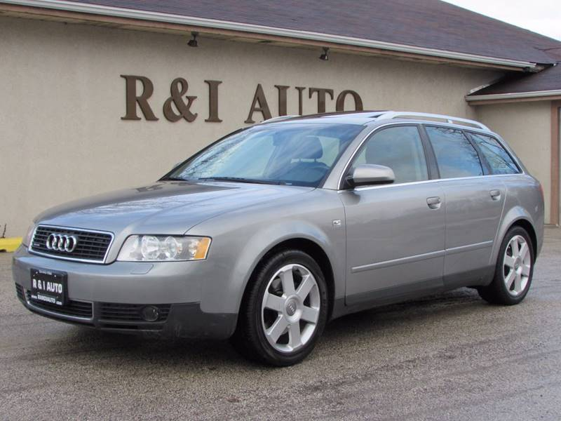 2003 Audi A4 Awd 30 Avant Quattro 4dr Wagon In Lake Bluff Il R