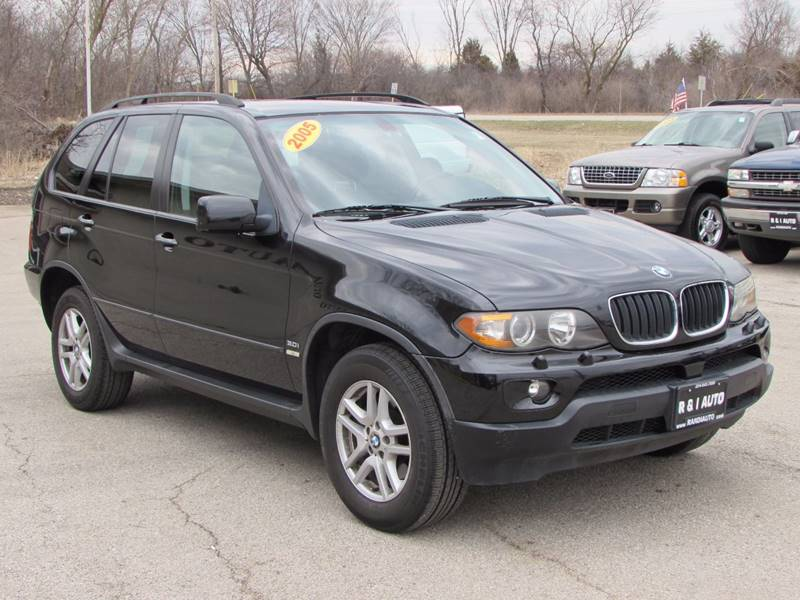 2005 Bmw X5 AWD 3.0i 4dr SUV In Lake Bluff IL - R & I Auto