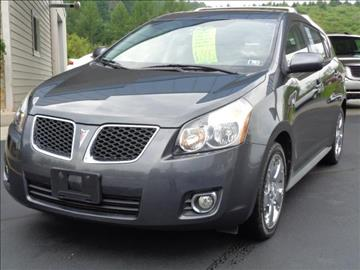 2009 Pontiac Vibe for sale at Rogos Auto Sales in Brockway PA